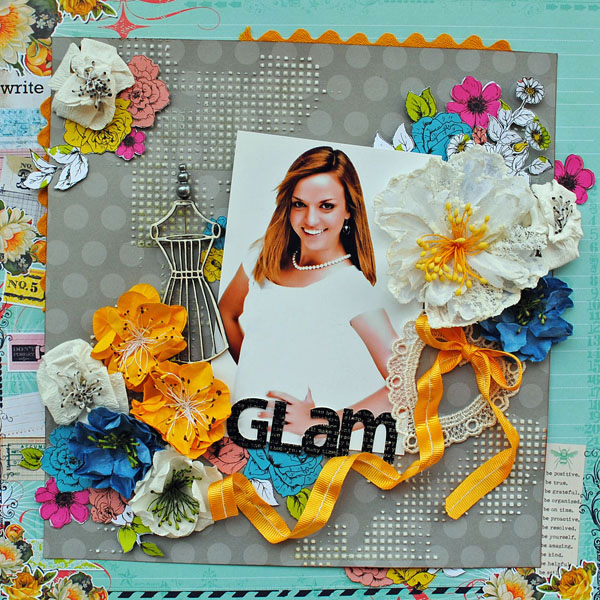Glam  - video class layout