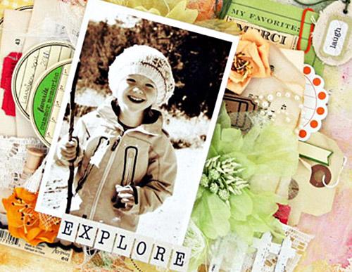 explore- Lene close up