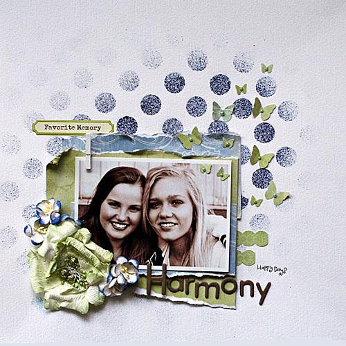 harmony layout - Lene Neby