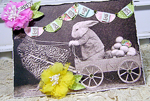 Happy Easter card - Linda