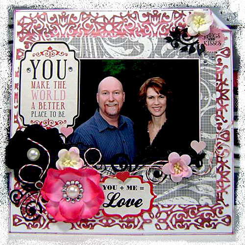 Love Layout - Linda Langes
