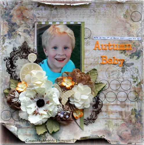 Melinda Thompson - Free Choice Layout - February 2012