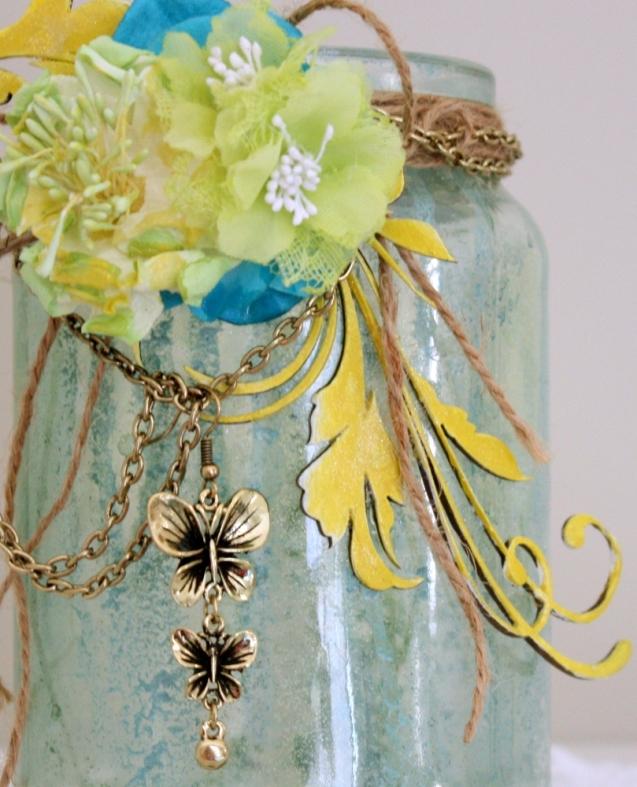 Melinda Thompson - Altered Jar - June 2012-1