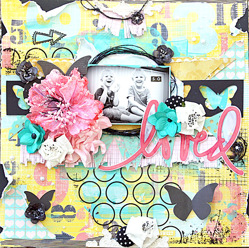 Melinda Thompson - Free Choice Layout - September 2012