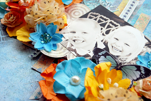 MHC_Oct Step by Step_Layout 'Laughter' by Trudi Harrison Detail 4