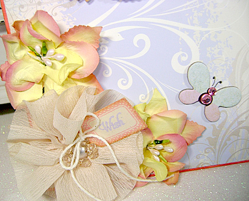 Linda-Free Choice-Wish card-flowers