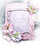 nancy baby girl frame
