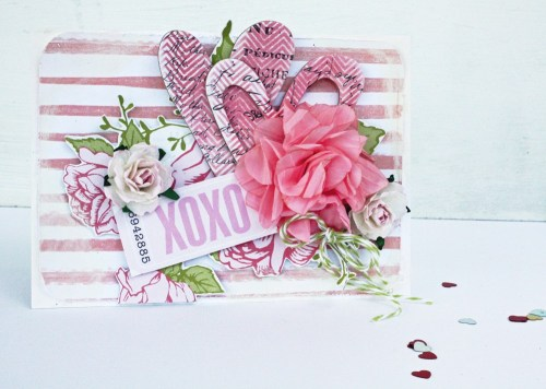 Melinda Thompson - February 2013 - Valentine Card