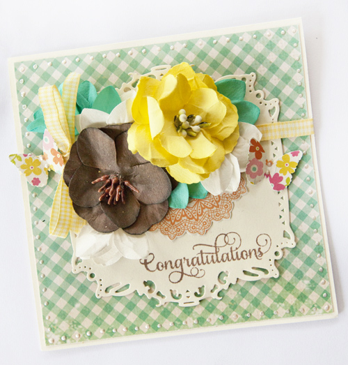 Alicia Barry, Congratulations card