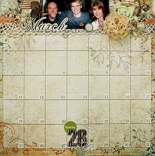 Linda-OTP-Calendar page