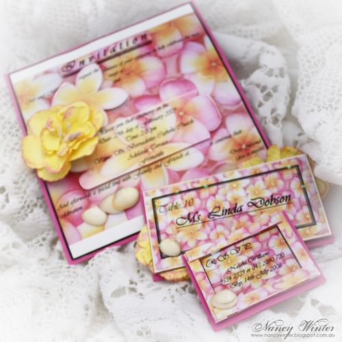 nancy - wedding stationary 1