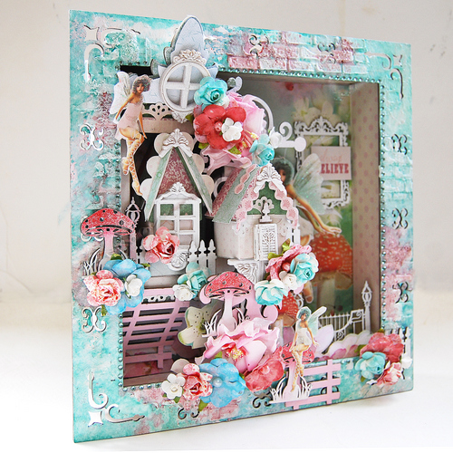 Filigree Shadow Box_Always Believe_Side View 1_Trudi Harrison