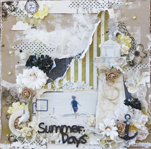 Melinda Thompson - 2Crafty Chipboard & CSI