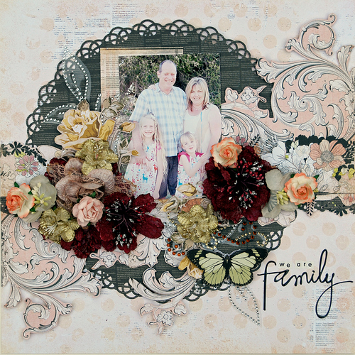 ASI 20 Layout 'We are family' by Trudi Harrison