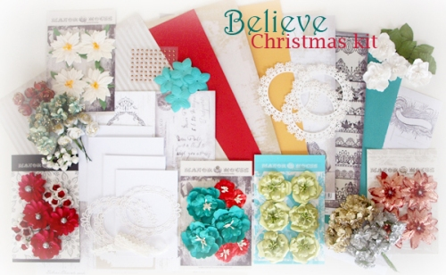 BELIEVE Christmas kit 4