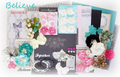 Believe layout kit november 1