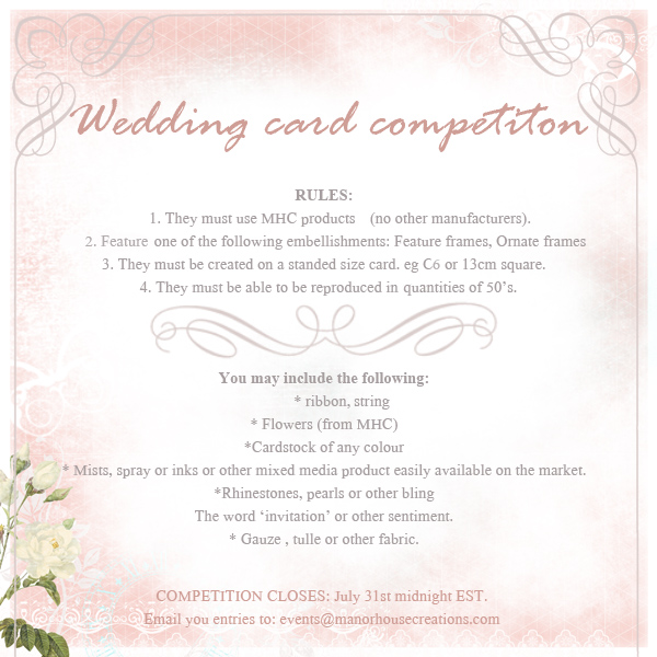 wedding card competition new